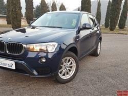 BMW X3 xDrive20d futura AUTOMATICA navigatore, 190cv